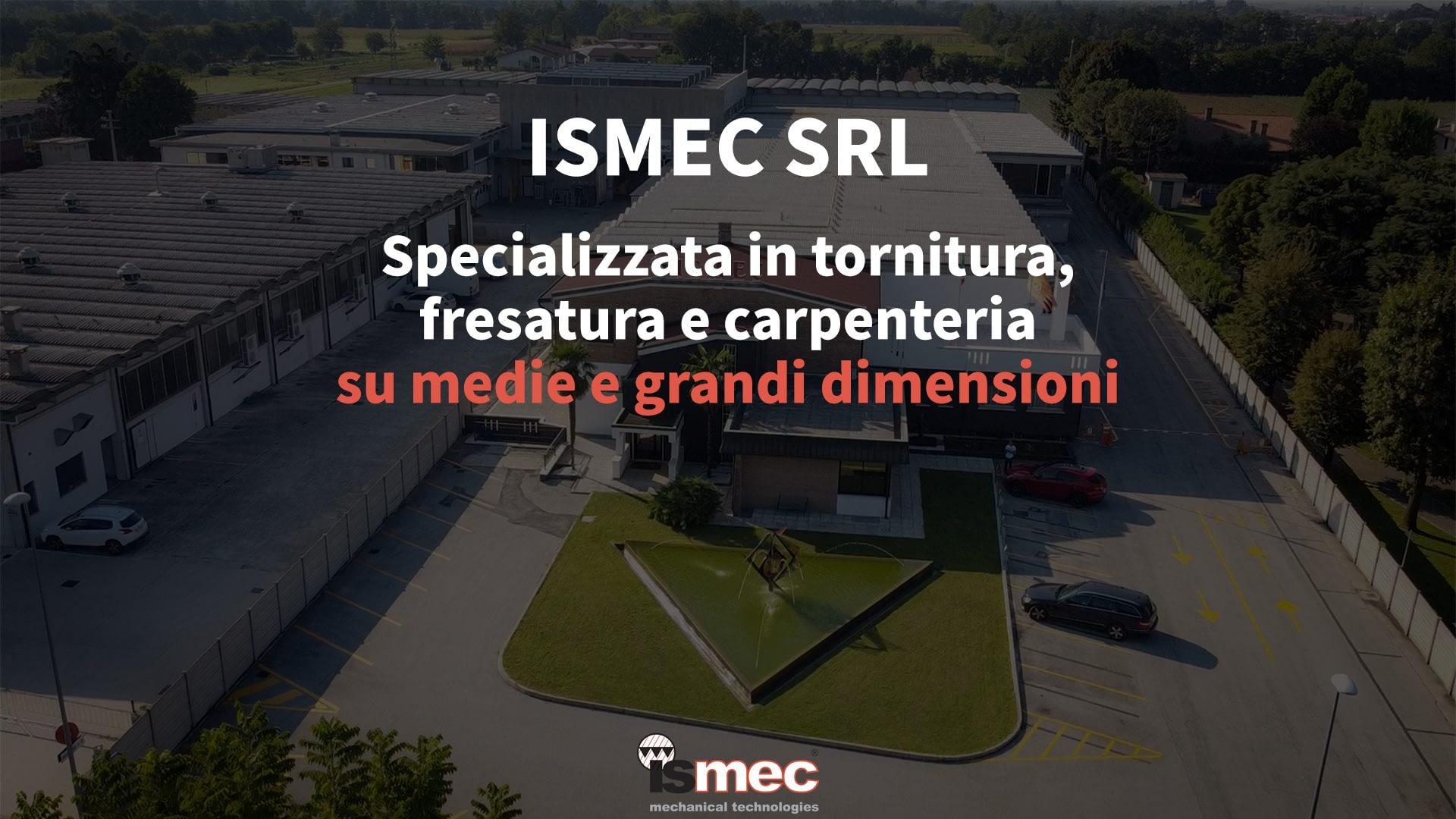 Copertina presentazione ISMEC